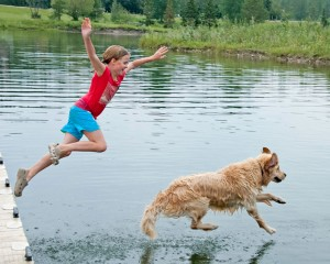 girl_dog_lake_web